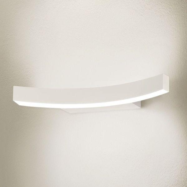Lampada applique a LED in alluminio bianco Bellai Home