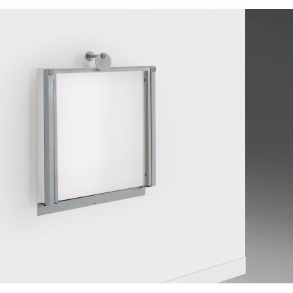Tavolo a scomparsa a muro con struttura in metallo e piano in melaminico Vegard