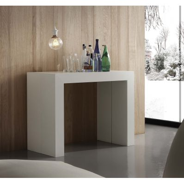 Tavolo consolle allungabile design Bendik