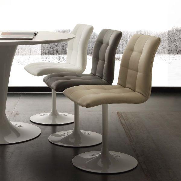 Poltroncina design moderno per sala pranzo Veikko