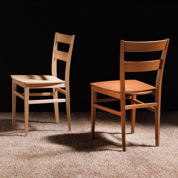 Sedia da cucina in legno Carissa