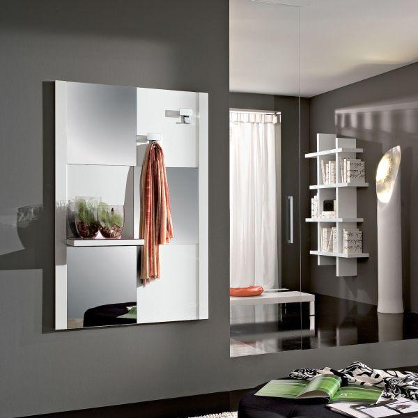 Specchiera Porta Abiti.Specchio Per Ingresso Con Appendiabiti Elmo
