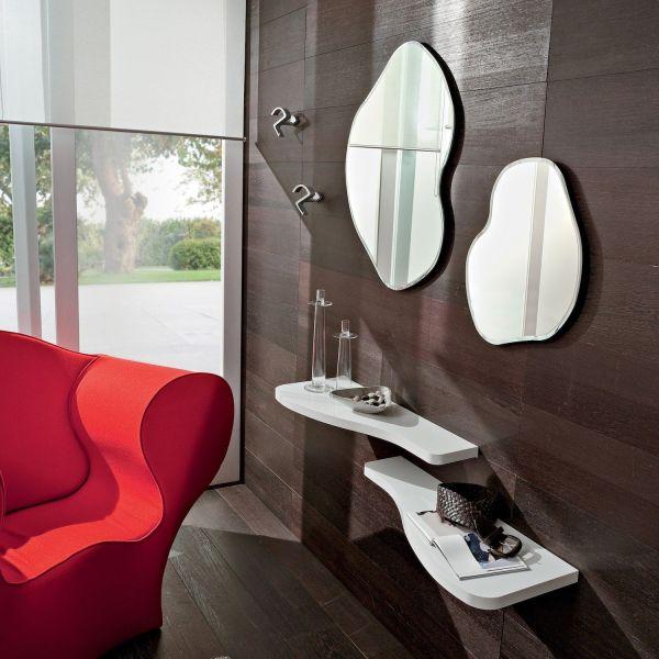 Mobili per ingresso design moderno mensole e specchi Timmy
