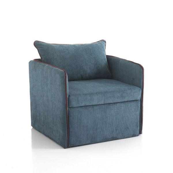 Poltrona letto singolo design moderno krummi - Poltrone letto singolo ...