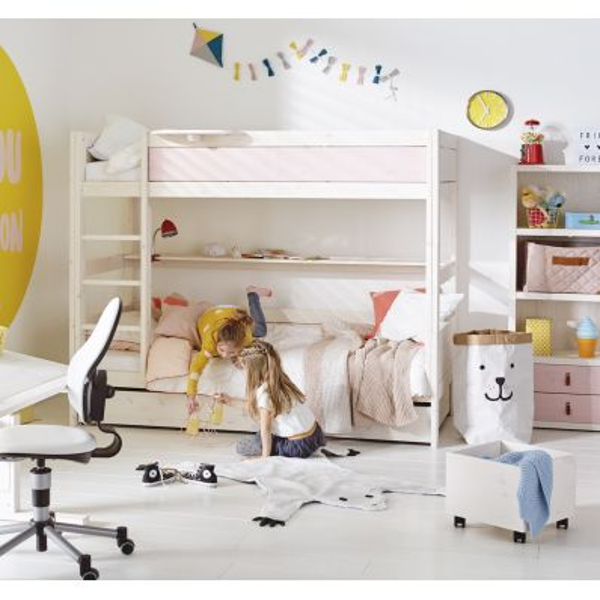 Letti A Castello Per Neonati.Letto A Castello Per Bambini Design Nordico Bunky
