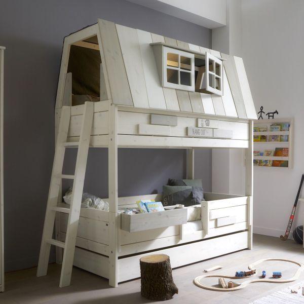 Cameretta per bambini con letto a castello Hangout