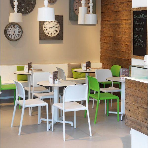 Sedia moderna per locali commerciali bar innovativi Abelide