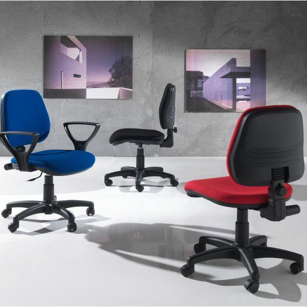 Sedia da ufficio girevole e regolabile in altezza Viviorca