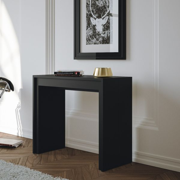 Tavolo Consolle Allungabile In Legno Barnaby Design Moderno Per