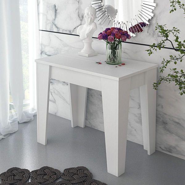 Tavolo consolle allungabile da 54 a 306 cm cucina legno Zulc