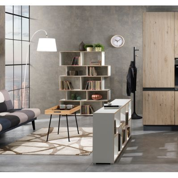 Libreria scaffale legno Fraine per casa e ufficio