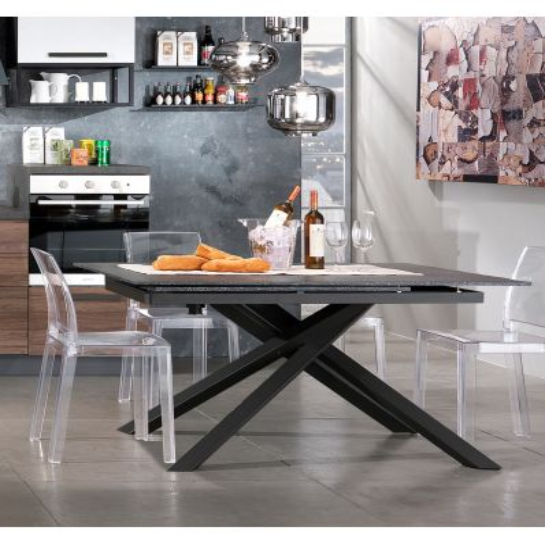 Tavolo Da Pranzo Allungabile E Sedie.Tavolo Da Pranzo Allungabile Design Moderno Whart