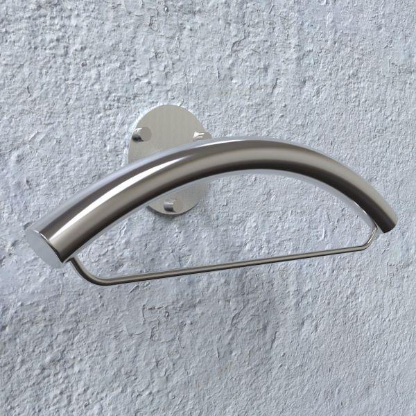 Servomuto da parete moderno in acciaio inossidabile Eye A