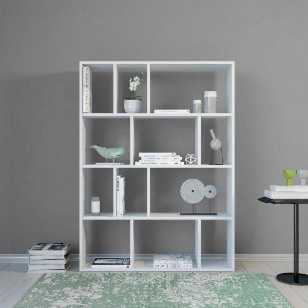 Libreria bifacciale design per soggiorno Cabal