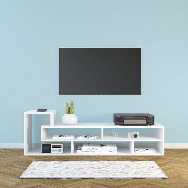 Mobiletto per televisore design moderno 135x40 cm Oasis