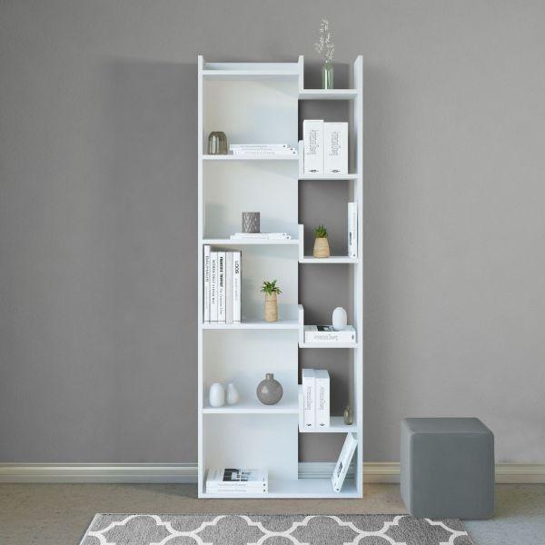 Libreria moderna per soggiorno Corinna