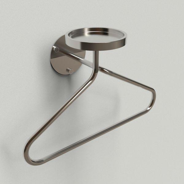 Servomuto design da parete in acciaio inox Yang Bowl