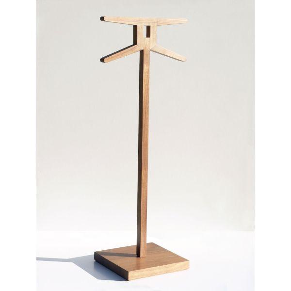 Servomuto in legno massello di noce moderno Signs