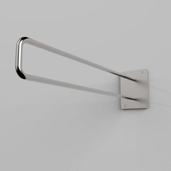 Stand appendiabiti da parete in acciaio inossidabile Loop