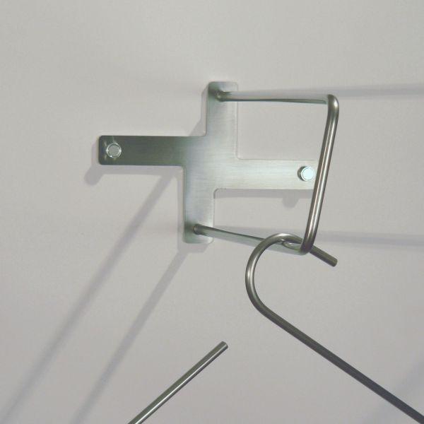 Stender appendiabiti da parete in acciaio Directions