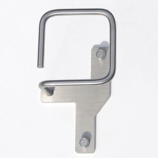 Attaccapanni a muro design moderno in acciaio Directions 1