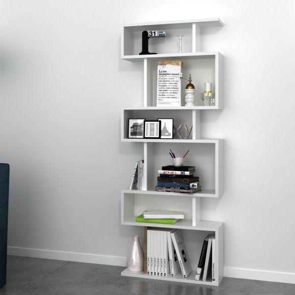 Dettagli su FLOYD libreria design A GIORNO a colonna da TERRA per soggiorno  60 x 150 cm