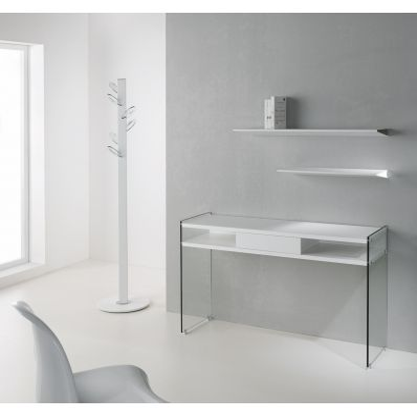 Consolle Vetro Ingresso.Consolle Ingresso Maya In Vetro E Laminato 120 X 75 Cm