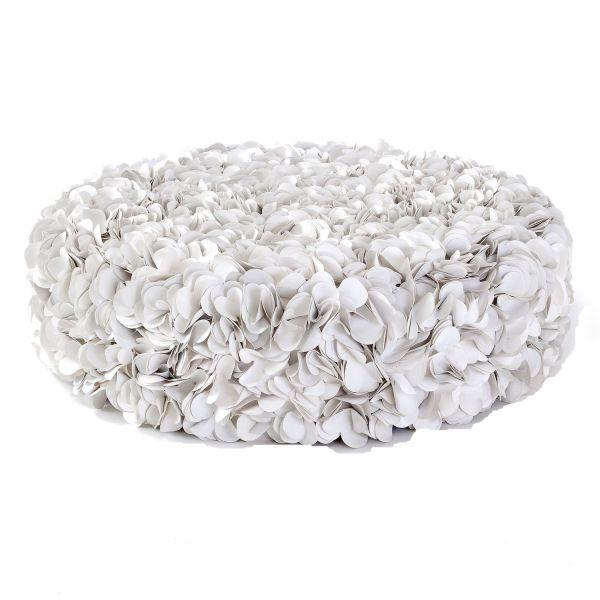 Sedia da esterni / Puff giardino in materiale riciclato Puff Gigante