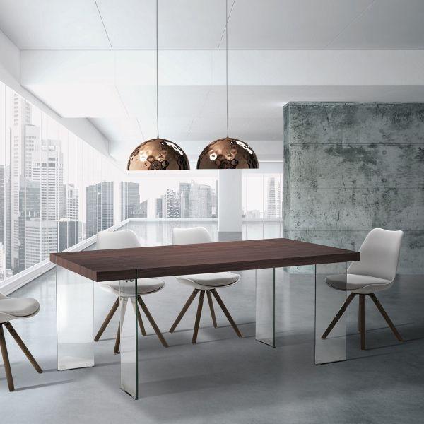 Tavolo da cucina design moderno 180 x 90 cm Jordan