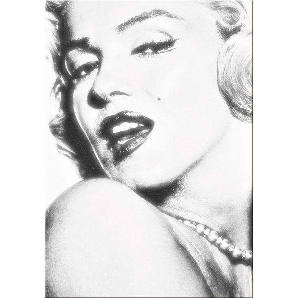 Stampa su tela quadro per soggiorno moderno Marilyn Monroe