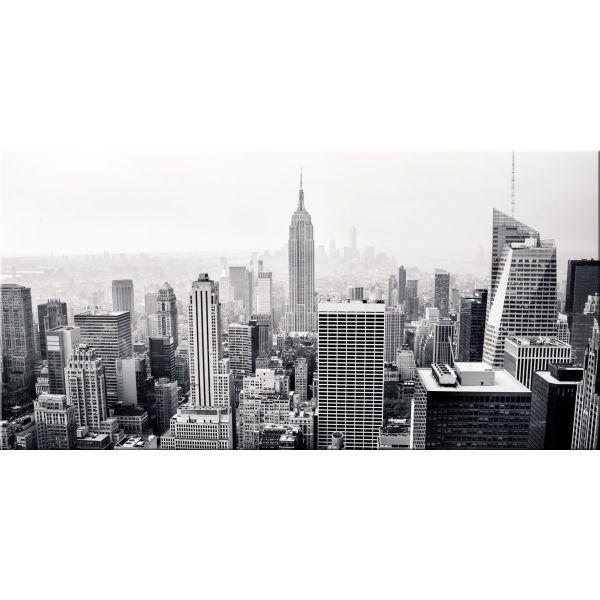 Quadro skyline New York stampa su tela Manhattan per soggiorno