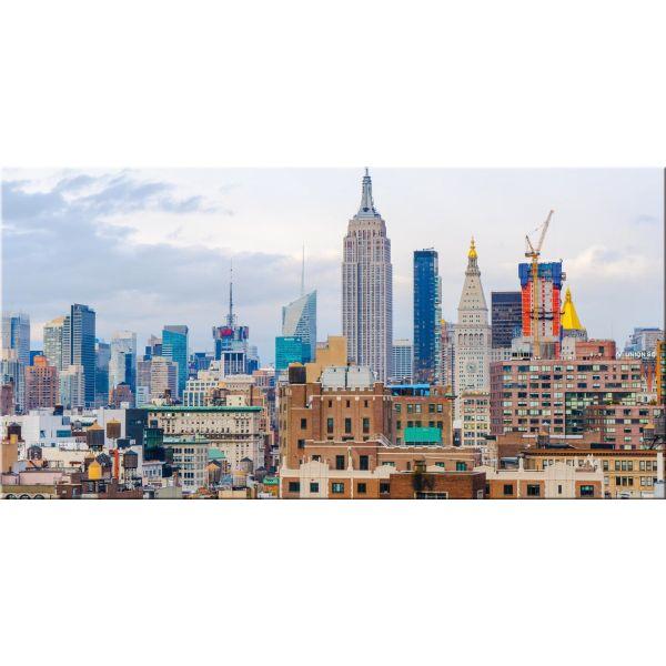 Quadro New York stampa su tela skyline Empire State Building