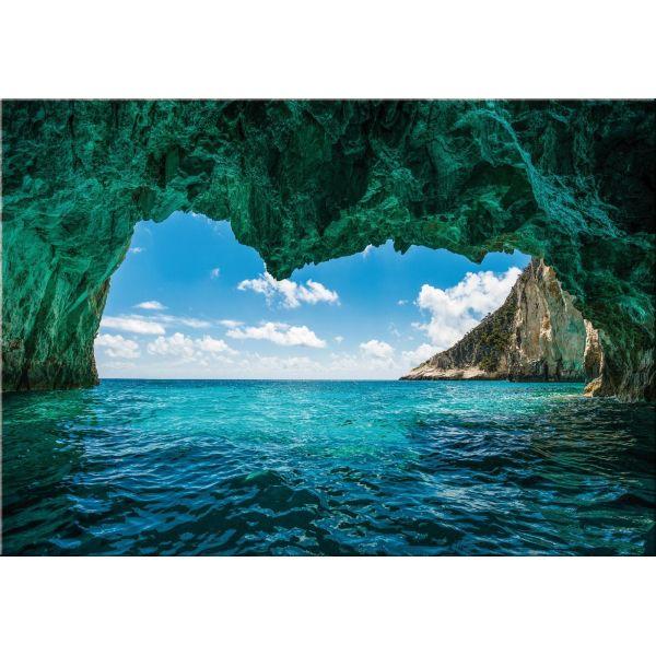 Quadro paesaggio mare stampa su tela moderna Sea Cave