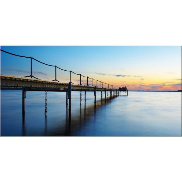 Quadro paesaggio stampa su tela moderna The Bridge