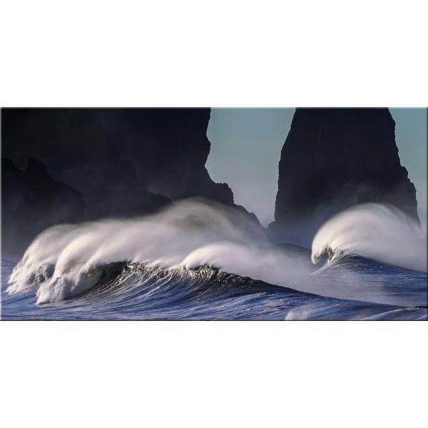Quadro paesaggio mare moderno stampa su tela Waves