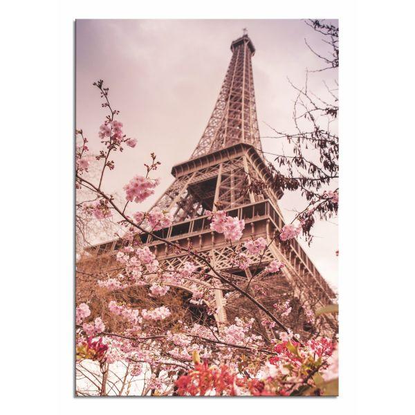 Quadro moderno su tela per soggiorno o camera Torre Eiffel