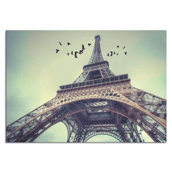 Stampa su tela per soggiorno moderno Torre Eiffel 2