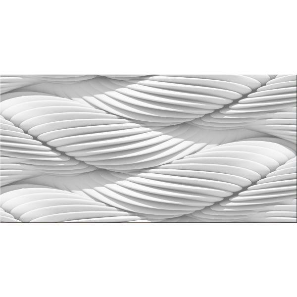Quadro moderno con immagini tridimensionali 140x70 cm Ruffle