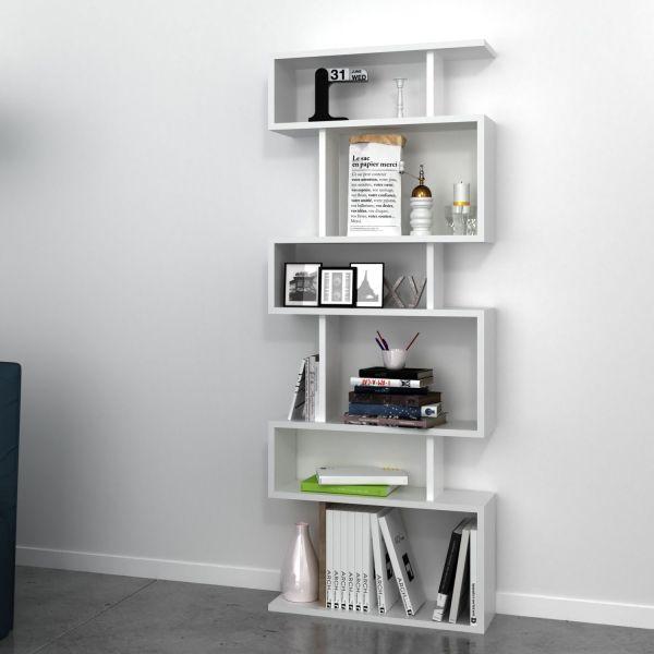 Floyd libreria bianca a giorno 60 x 150 cm OUTLET