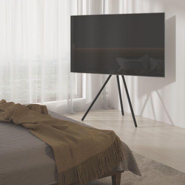 Treppiedi porta TV Dillon fino a 70 pollici con staffa universale VESA 600x400