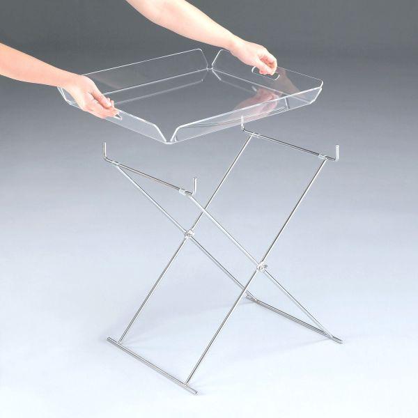 Tavolino salotto pieghevole per arredare casa piccola Kasper