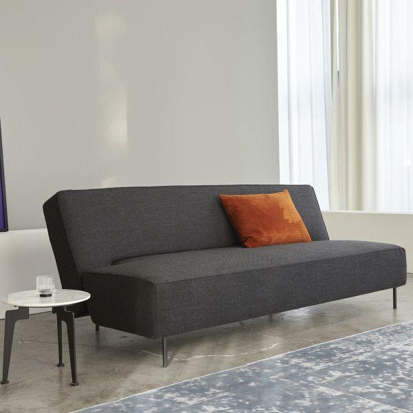 Divano letto schienale reclinabile in tessuto 200 cm Puzzle Cubic