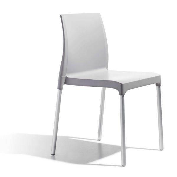 Set 6 sedie da giardino impilabili in polipropilene Get