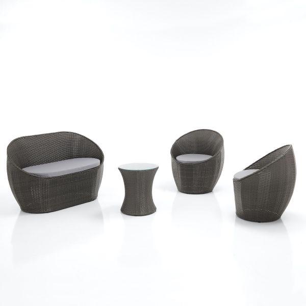 Set mobili per esterno Benidorm | Divano poltrone tavolino