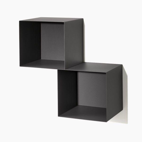 Cubi da parete per camerette o soggiorno Twin