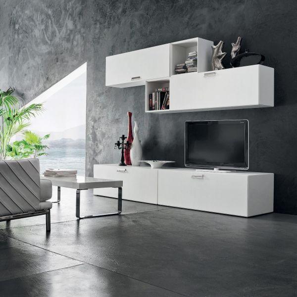 Parete attrezzata moderna per soggiorno Otto | Mobili soggiorno