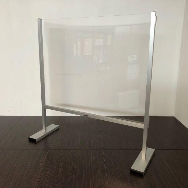 Barriera protettiva in plexiglass per negozi