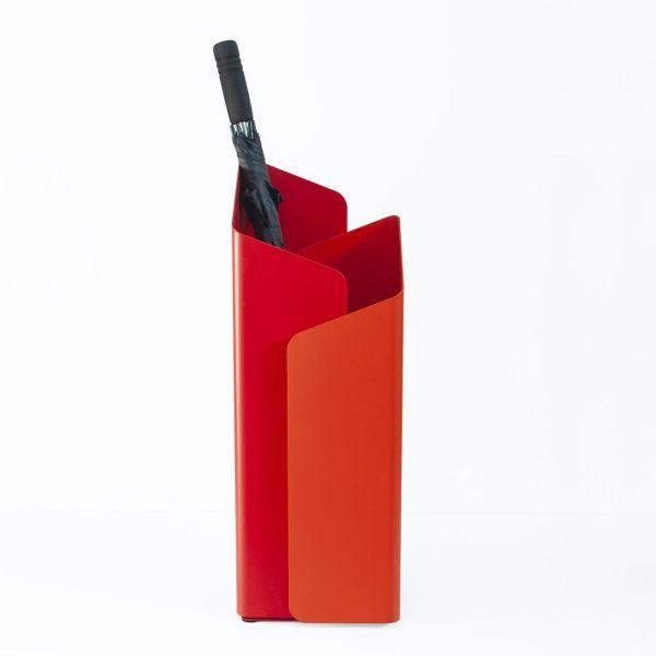 Portaombrelli design moderno in acciaio Laberint