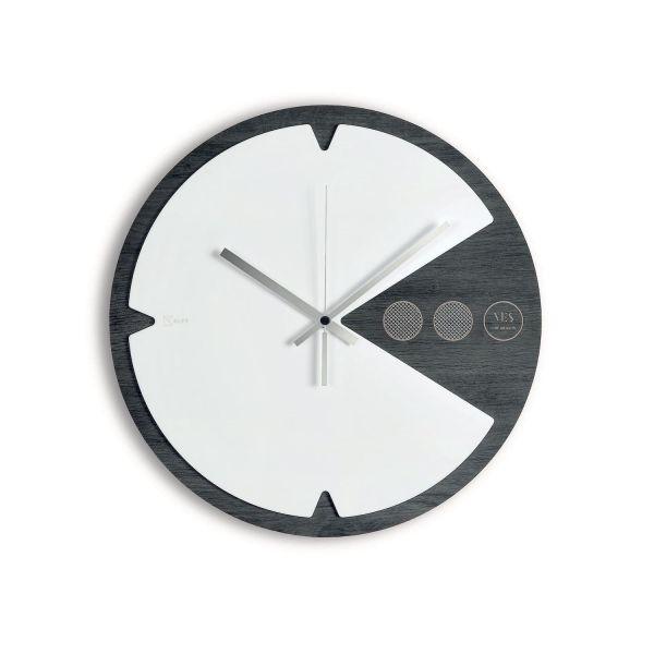 Orologio da parete design moderno Pac-Time