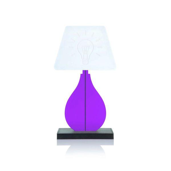 Lampada da tavolo abat jour a LED Shape Classic